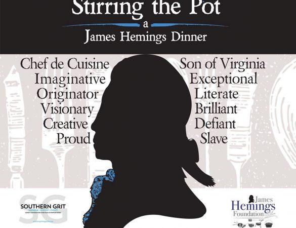 Chefs Honor James Hemings at Stirring the Pot Dinner