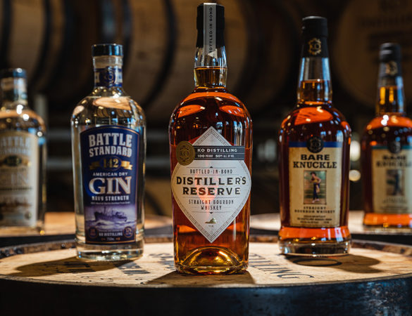 KO Distilling Releases Bottled-In-Bond Distiller's Reserve Straight Bourbon Whiskey