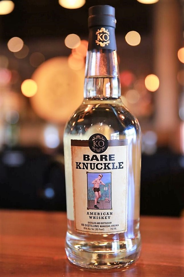 KO Distilling Bare Knuckle American White Whiskey