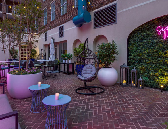 King & Rye in Alexandria Introduces a Summer Cocktail Garden