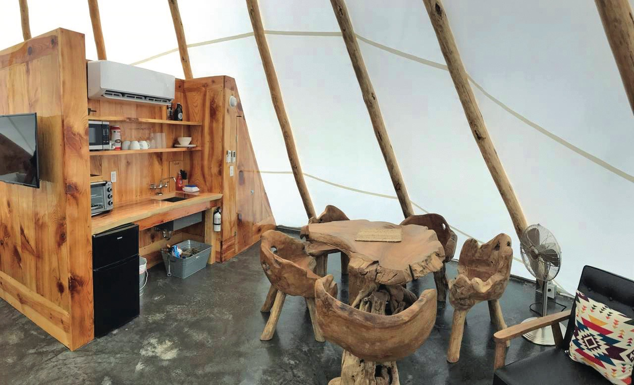 Native American Glamping