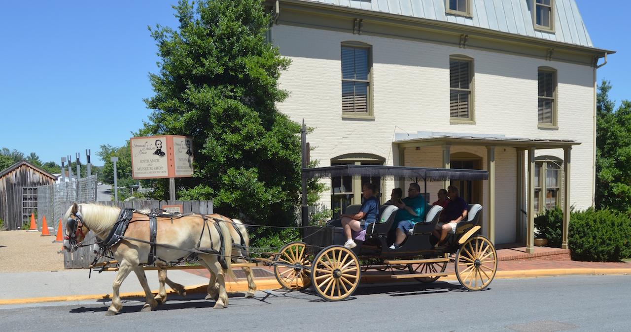 Lexington Carriage Tour