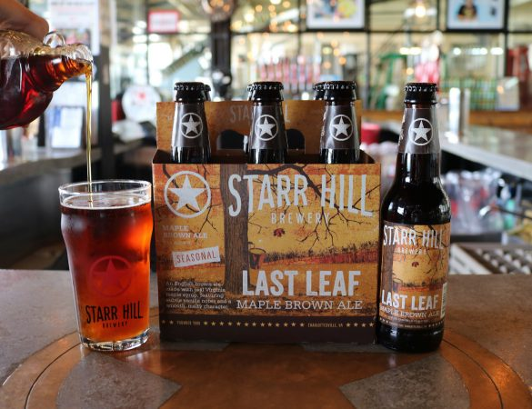 Starr Hill's Last Leaf Maple Chocolate Chip Pancakes