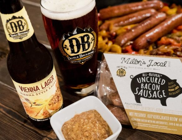 Milton's Local Teams Up with Devils Backbone to Create Beer Bratwurst