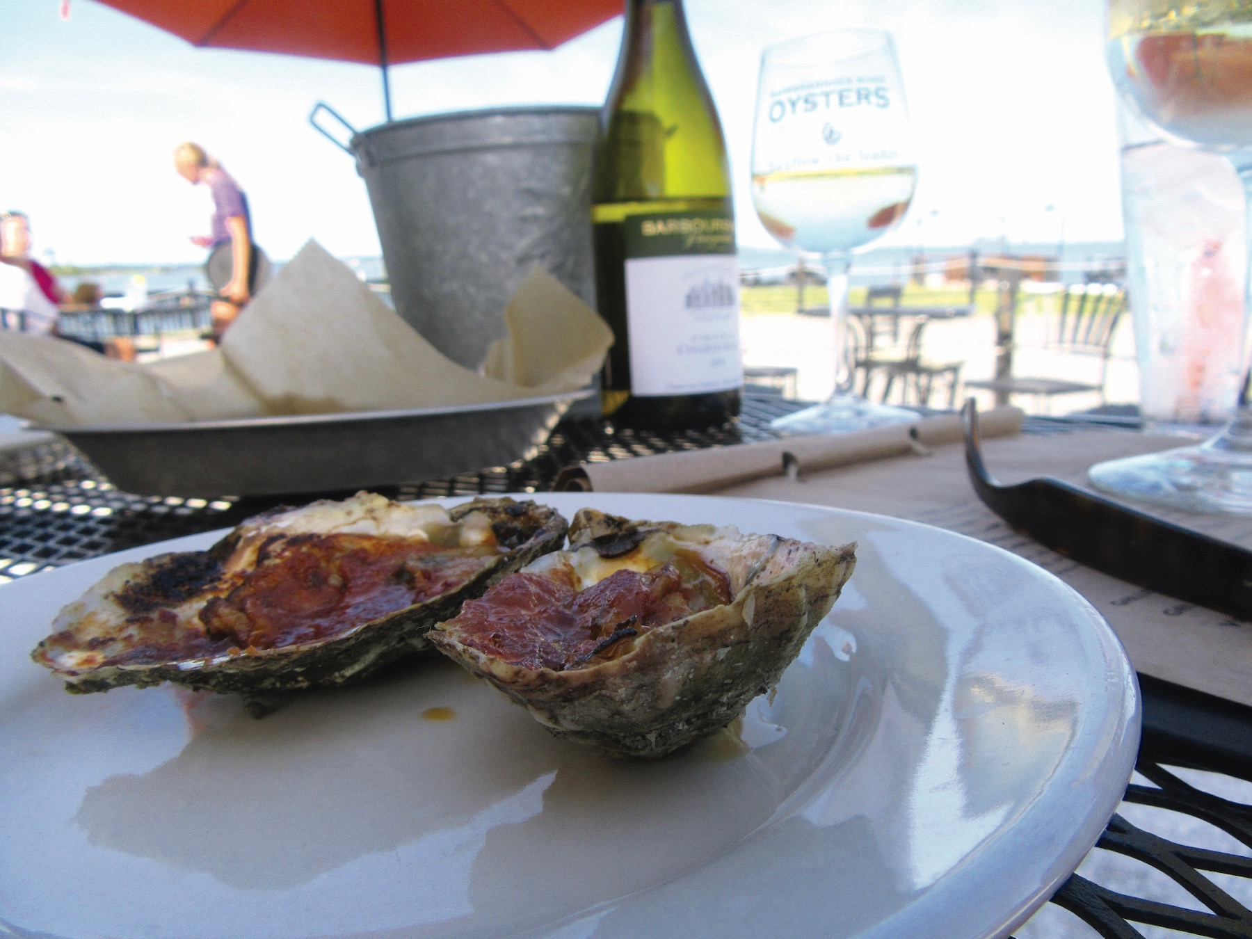Merroir, Topping, oysters