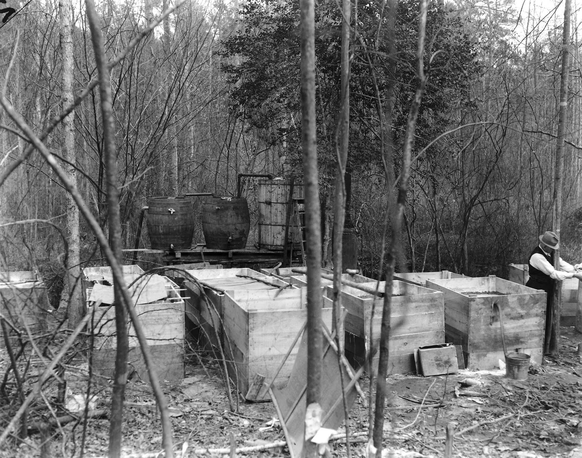 Raid on Still, Henrico County, Prohibition