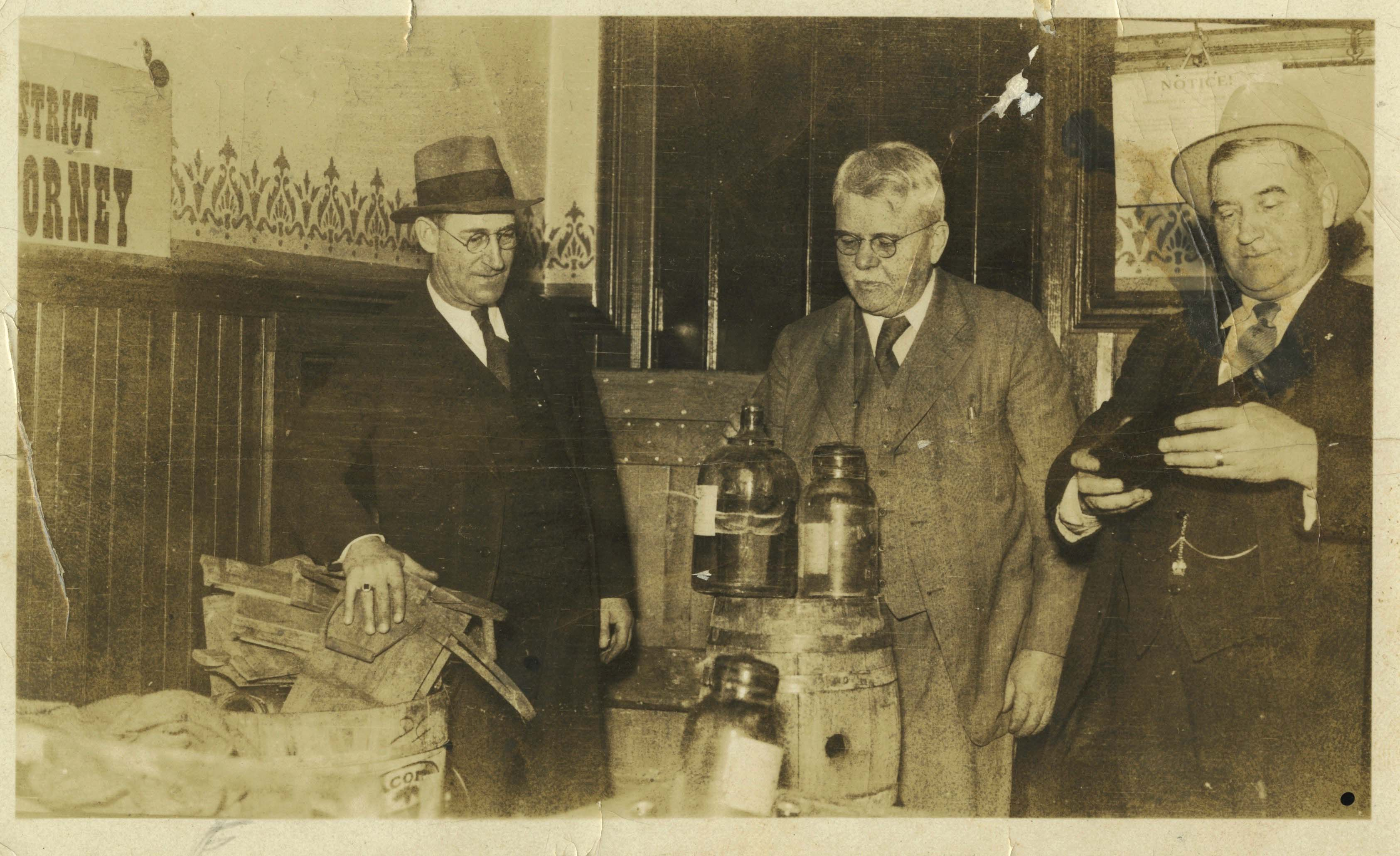 Seized Goods, Richmond, Prohibition