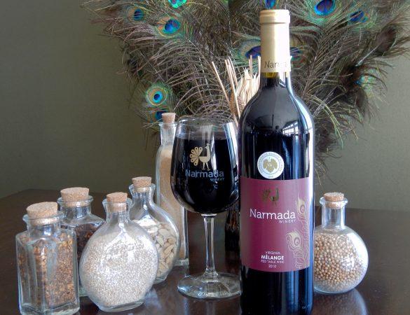 Narmada Winery Melange 2014 Wins 2017 Gold at Texsom