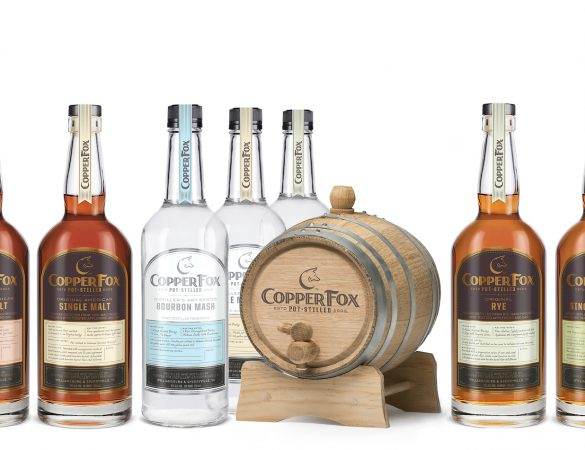 Copper Fox Distillery Launches New Branding