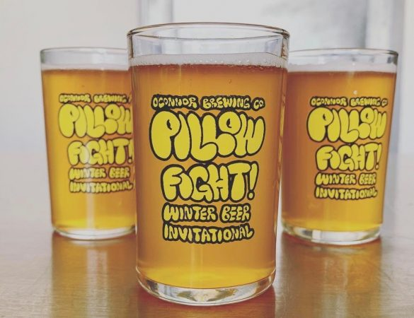 O'Connor Brewing Hosts Pillow Fight! Invitational