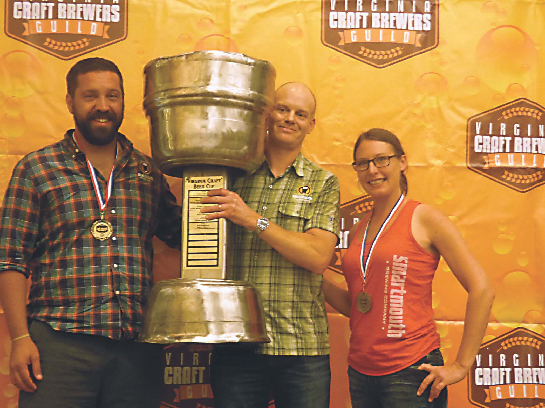 Smartmouth wins 2017 Virginia Craft Beer Cup