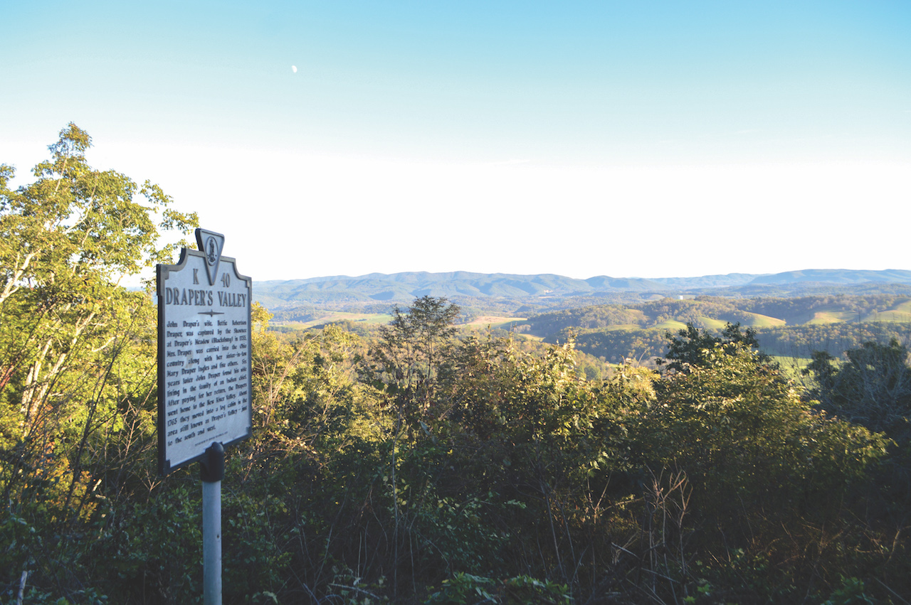 Marker on Draper Mountain