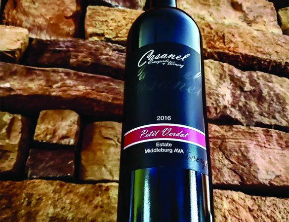 Casanel Petit Verdot Awarded at Wine Competition