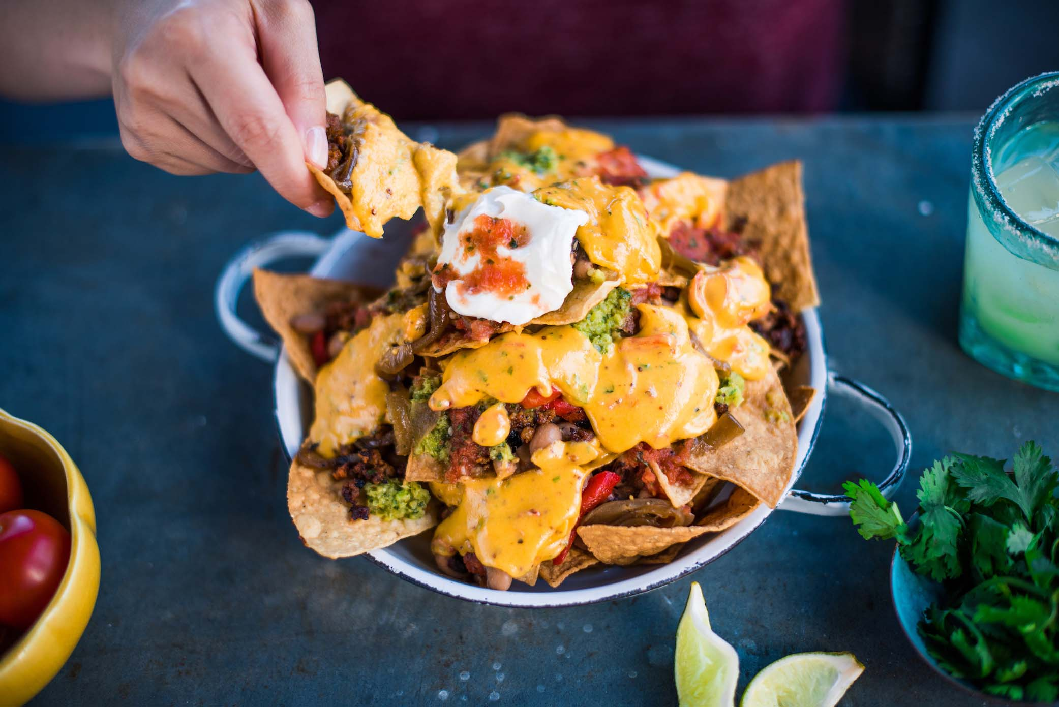 Tupelo Honey Pimento Cheese Nachos