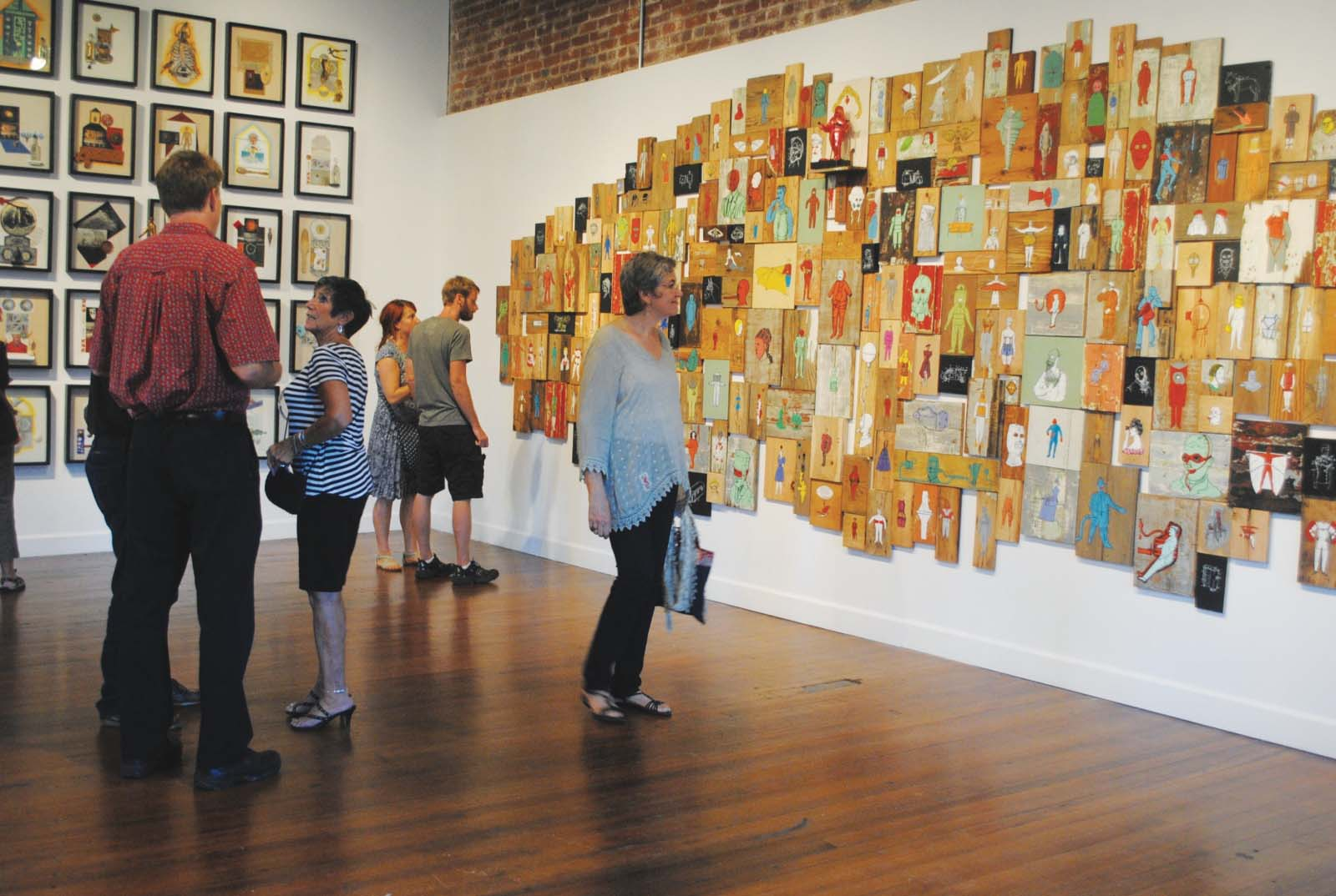 First Friday at Riverviews Artspace