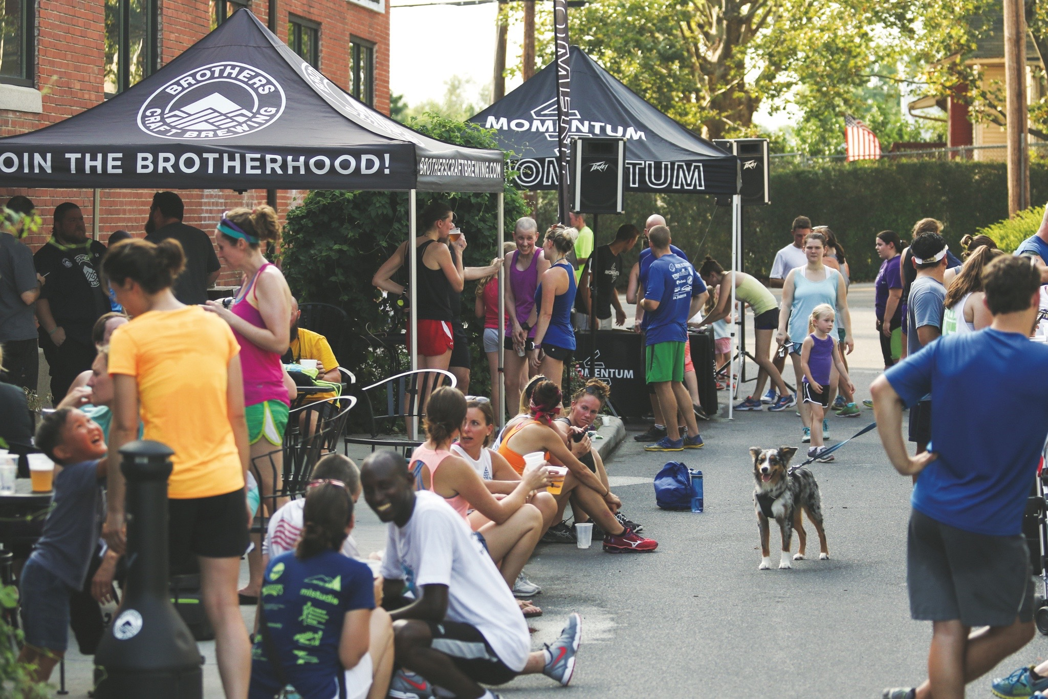 Run Sweat & Beers at Brothers Craft Brewing