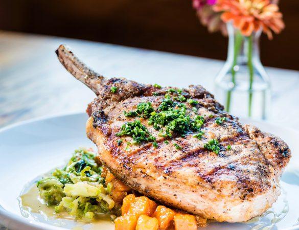 Esoteric's Grilled Bone-In Pork Chop Recipe