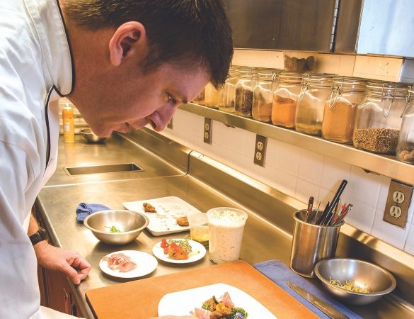 Chef Patrick Willis Maintains Lemaire's Acclaimed Reputation