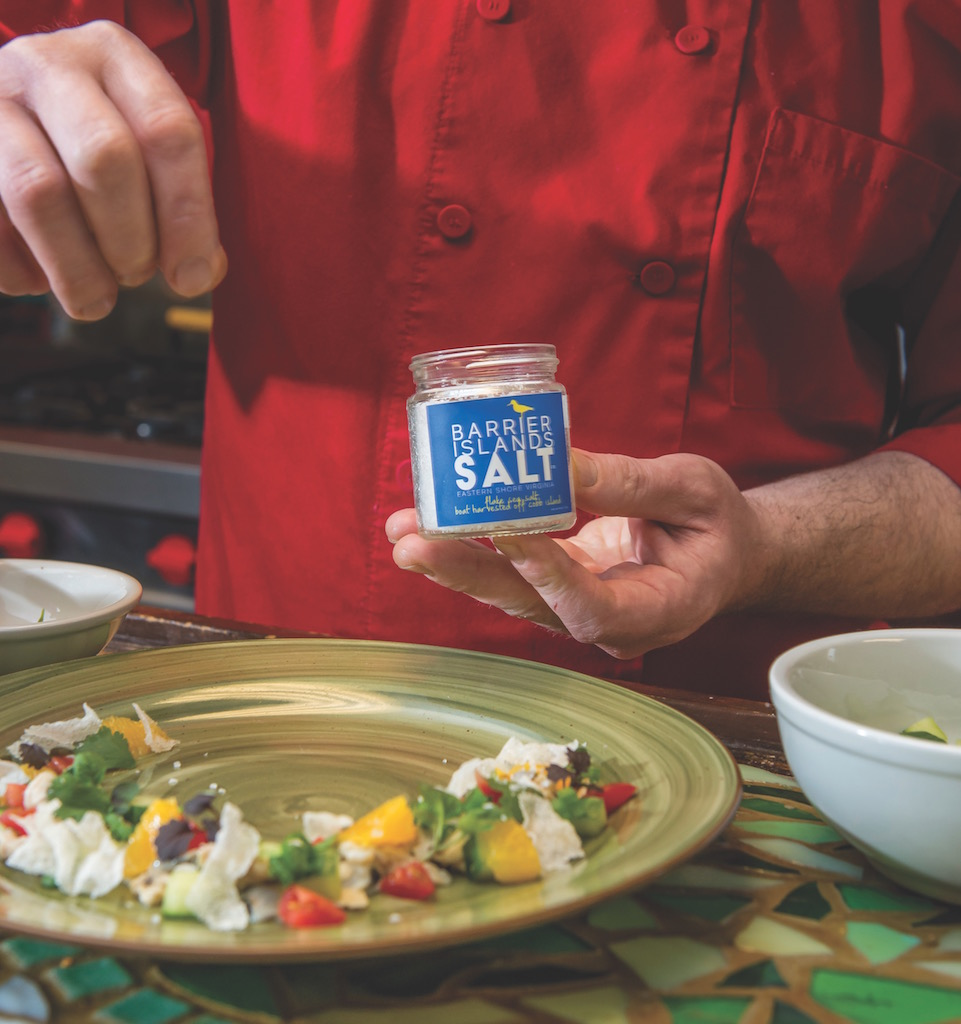 barrier island salt