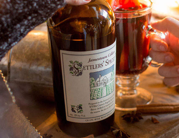 The Williamsburg Winery's Traditional Warm Spiced Wine Recipe