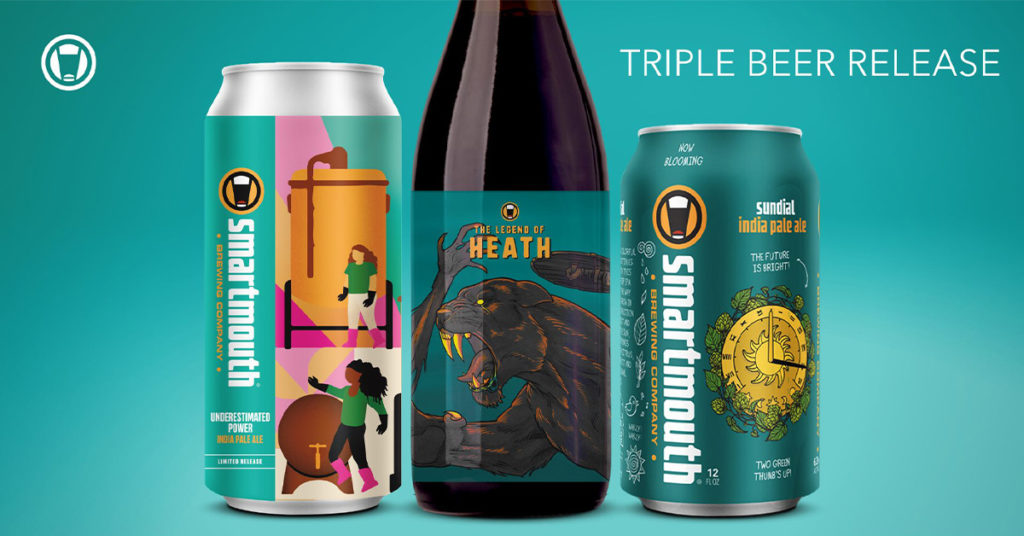 Smartmouth Triple Beer Release