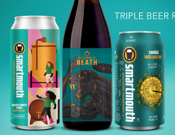 Smartmouth Brewing Announces Spring Releases
