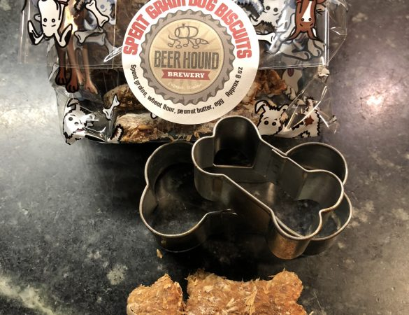 Beer Hound Brewery's Spent Grain Dog Treats Recipe