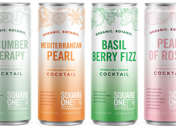 Square One Organic Spirits Launches Ready-to-Drink Canned Cocktails