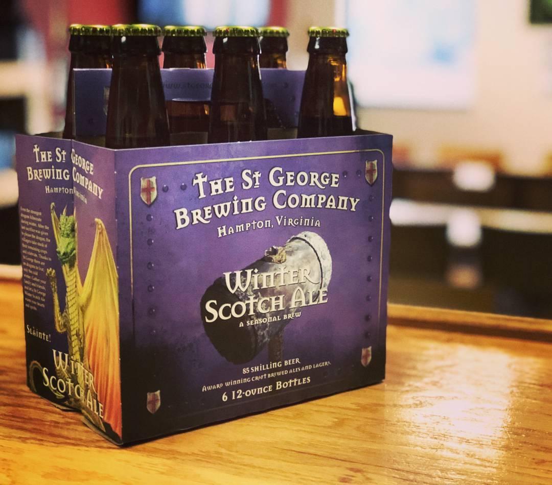 St. George Brewing, Hampton, Holiday beers