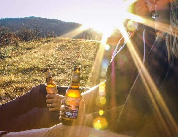 Starr Hill's Front Row Golden Ale Joins Year-Round Lineup