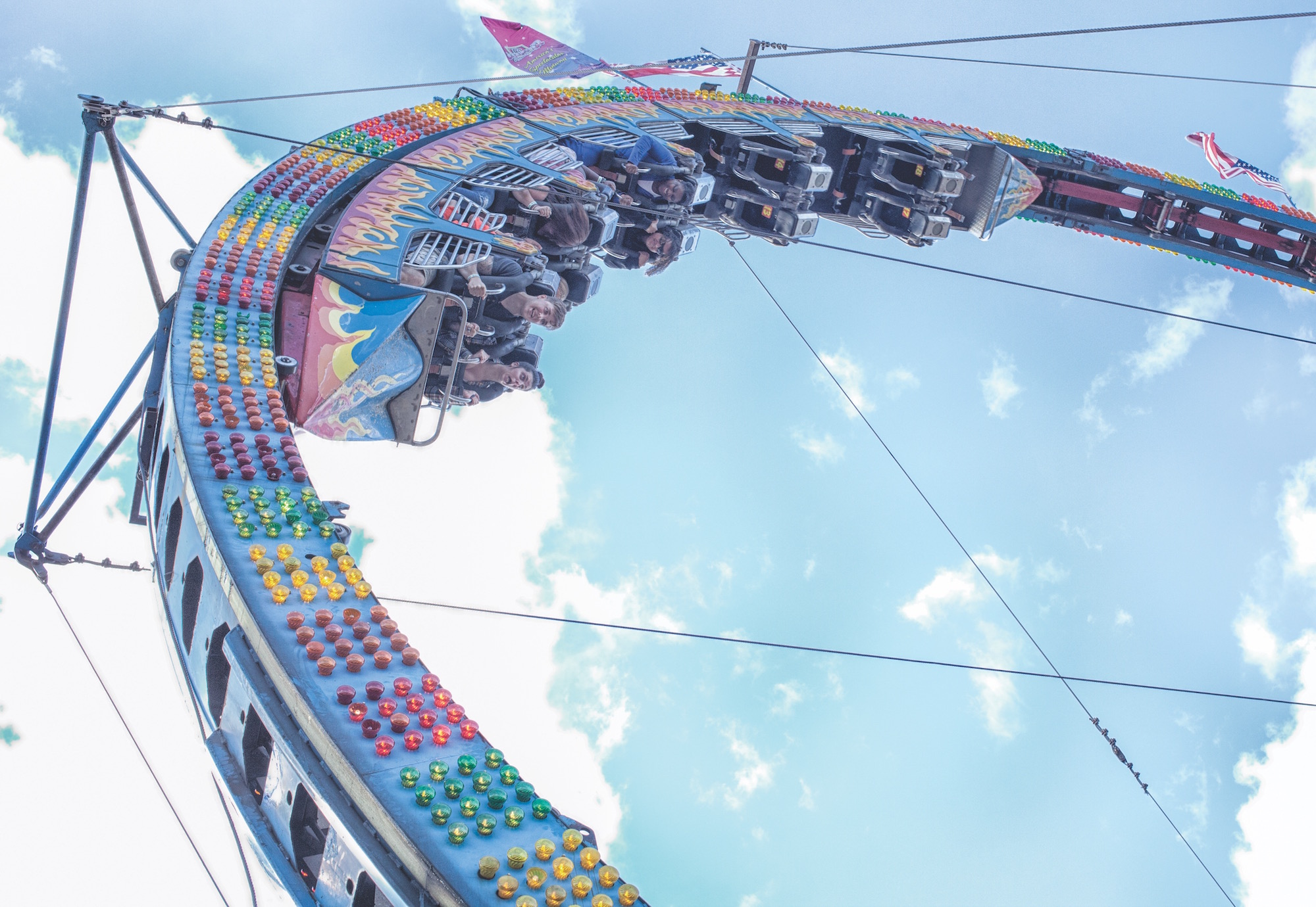 Virginia State Fair, thrilling rides