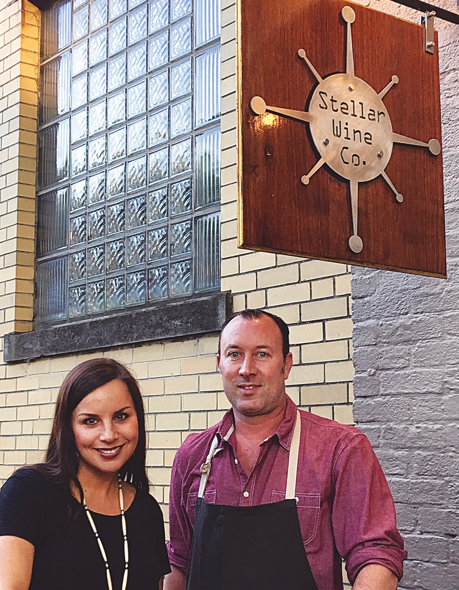 Stellar Wine Co. Portsmouth Chef Jamie Young, Mandy Tamplin owner