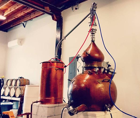 still at Spirits Lab Distilling