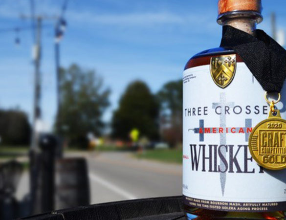 Three Crosses Distilling Co. Wins Gold at 2020 Craft Competition International Awards