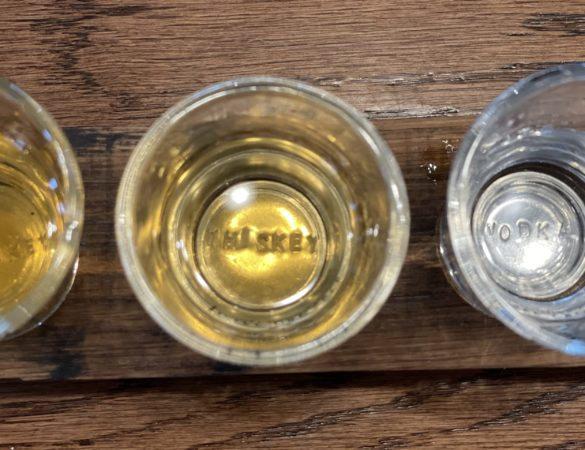 Triple the Charm at Three Crosses Distillery