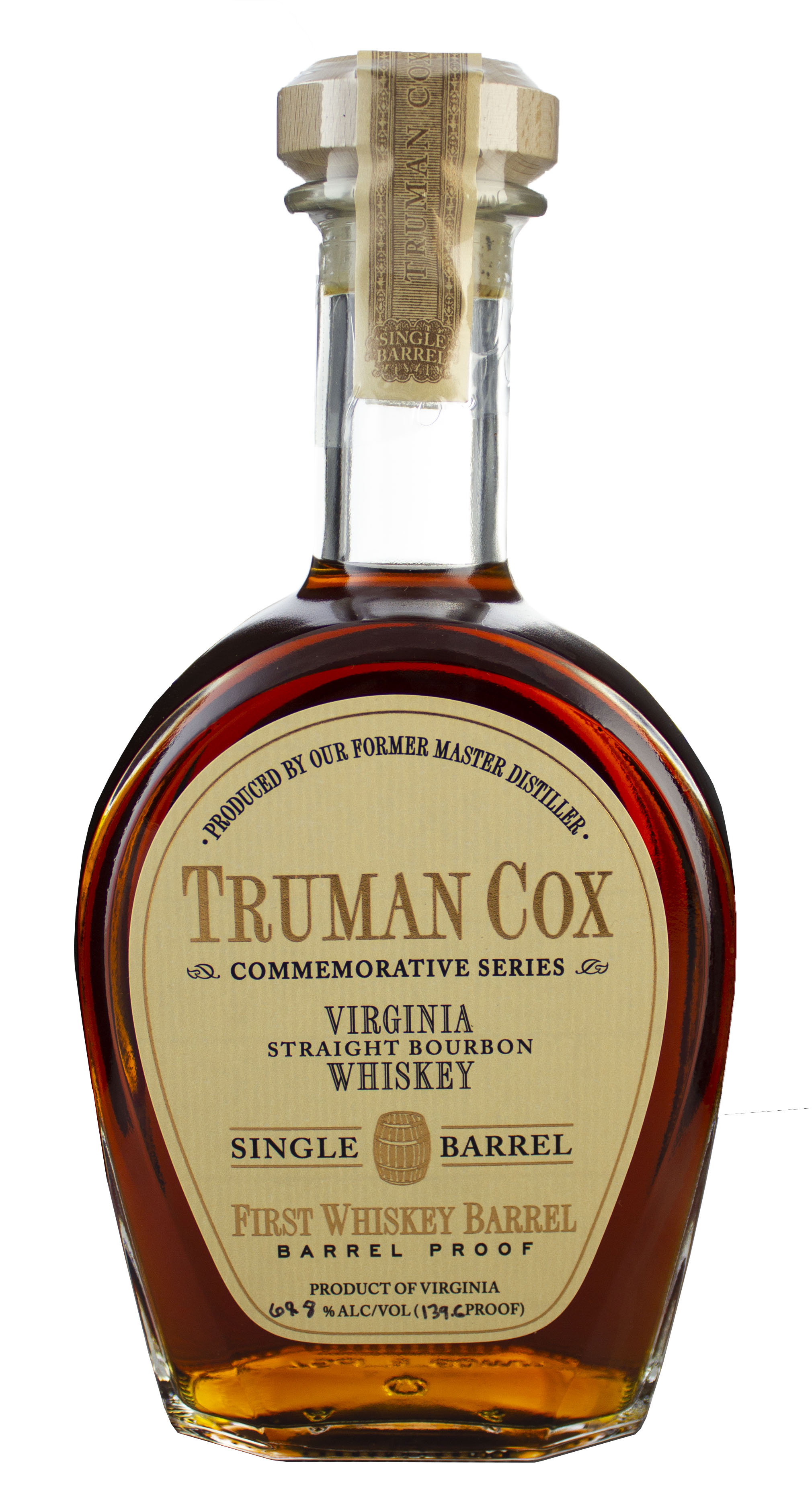 A. Smith Bowman Distillery, Truman Cox Series