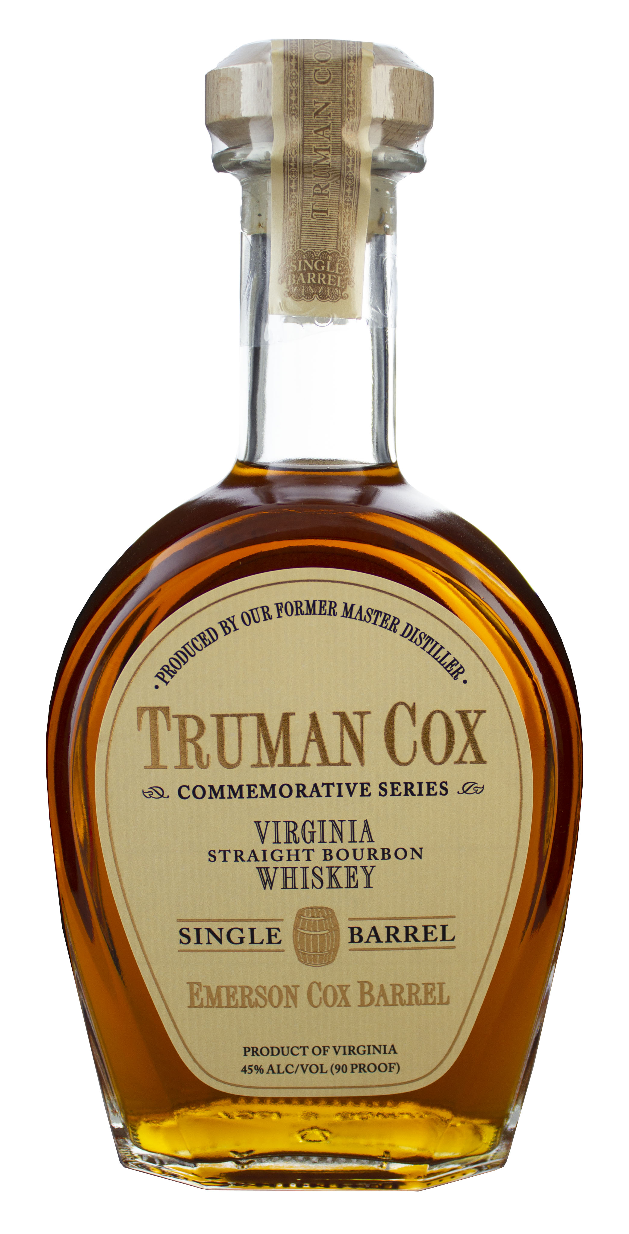 Truman Cox Commemorative Series, A. Smith Bowman Distillery