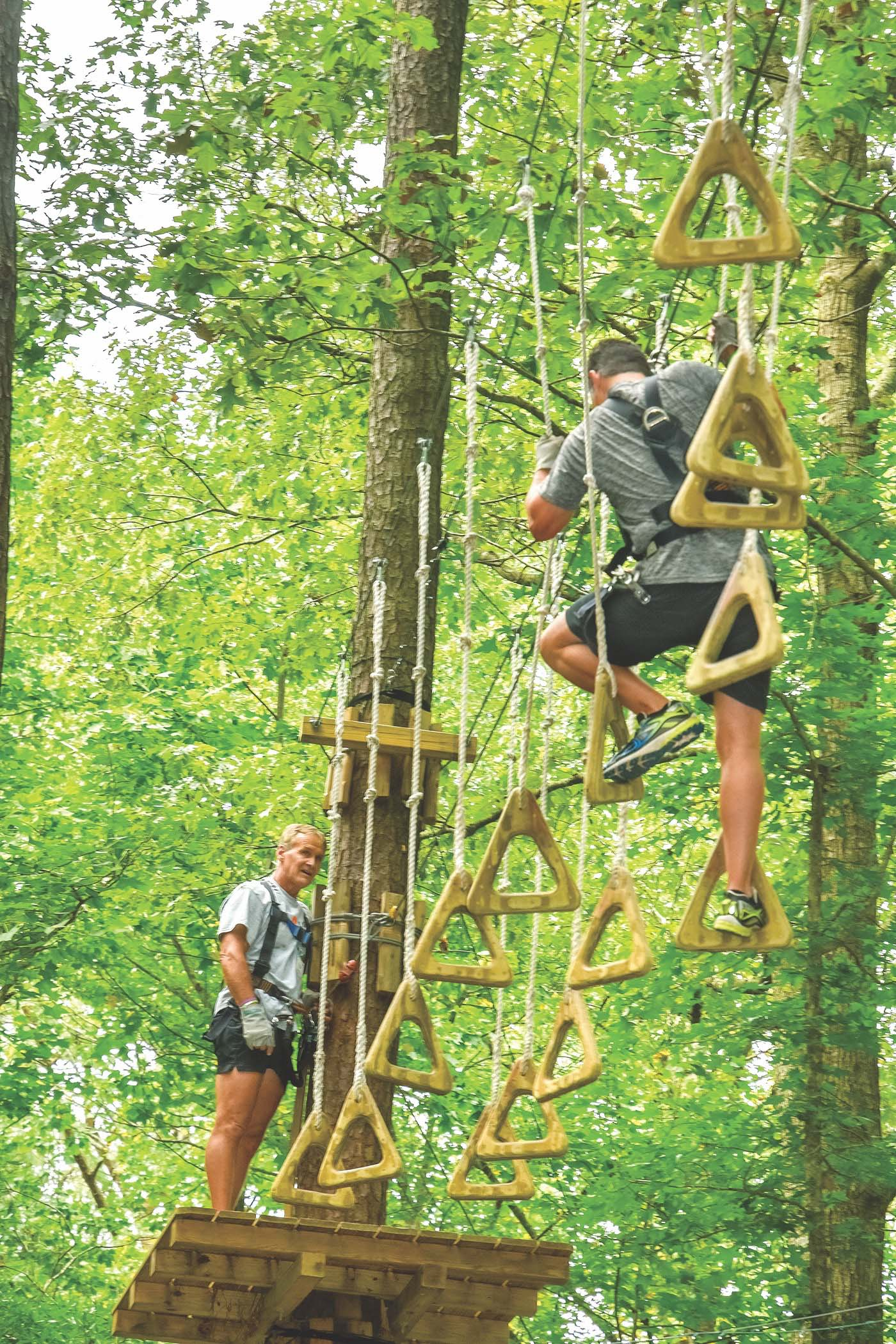 Zipline Courses Throughout Virginia Are