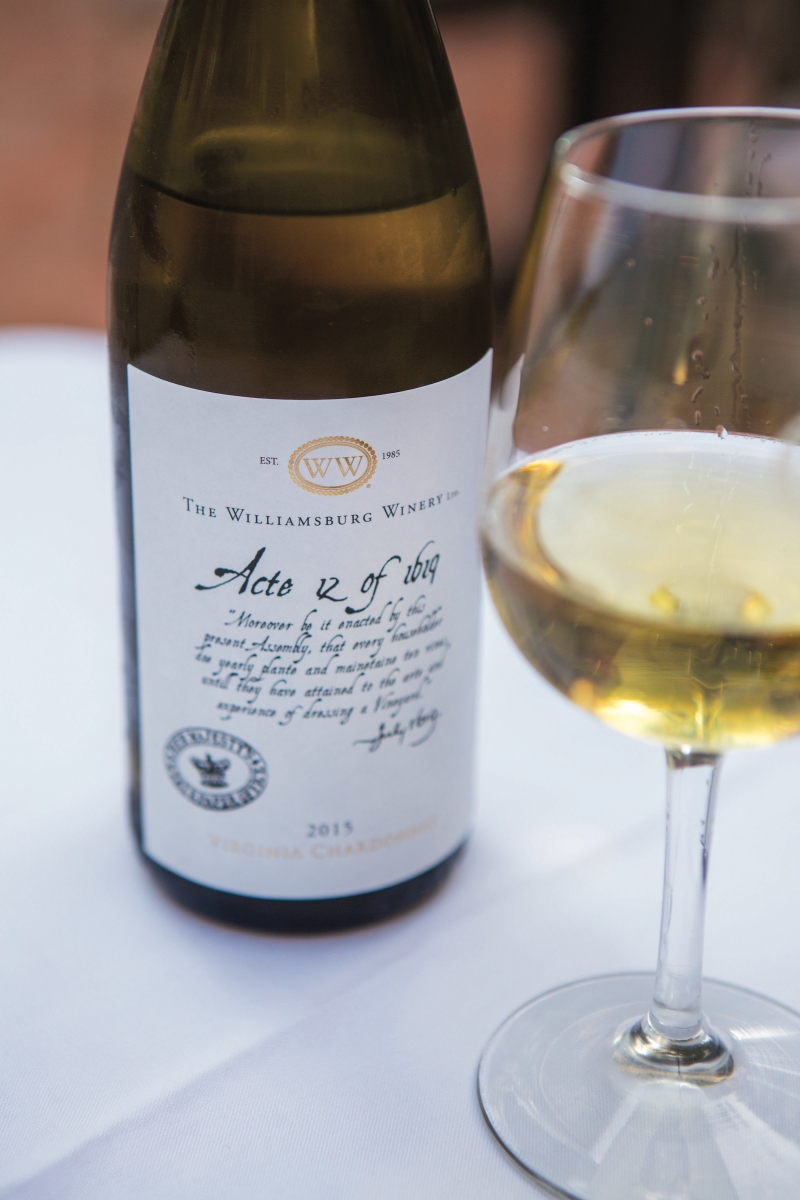 Williamsburg Winery Acte 12 Chardonnay
