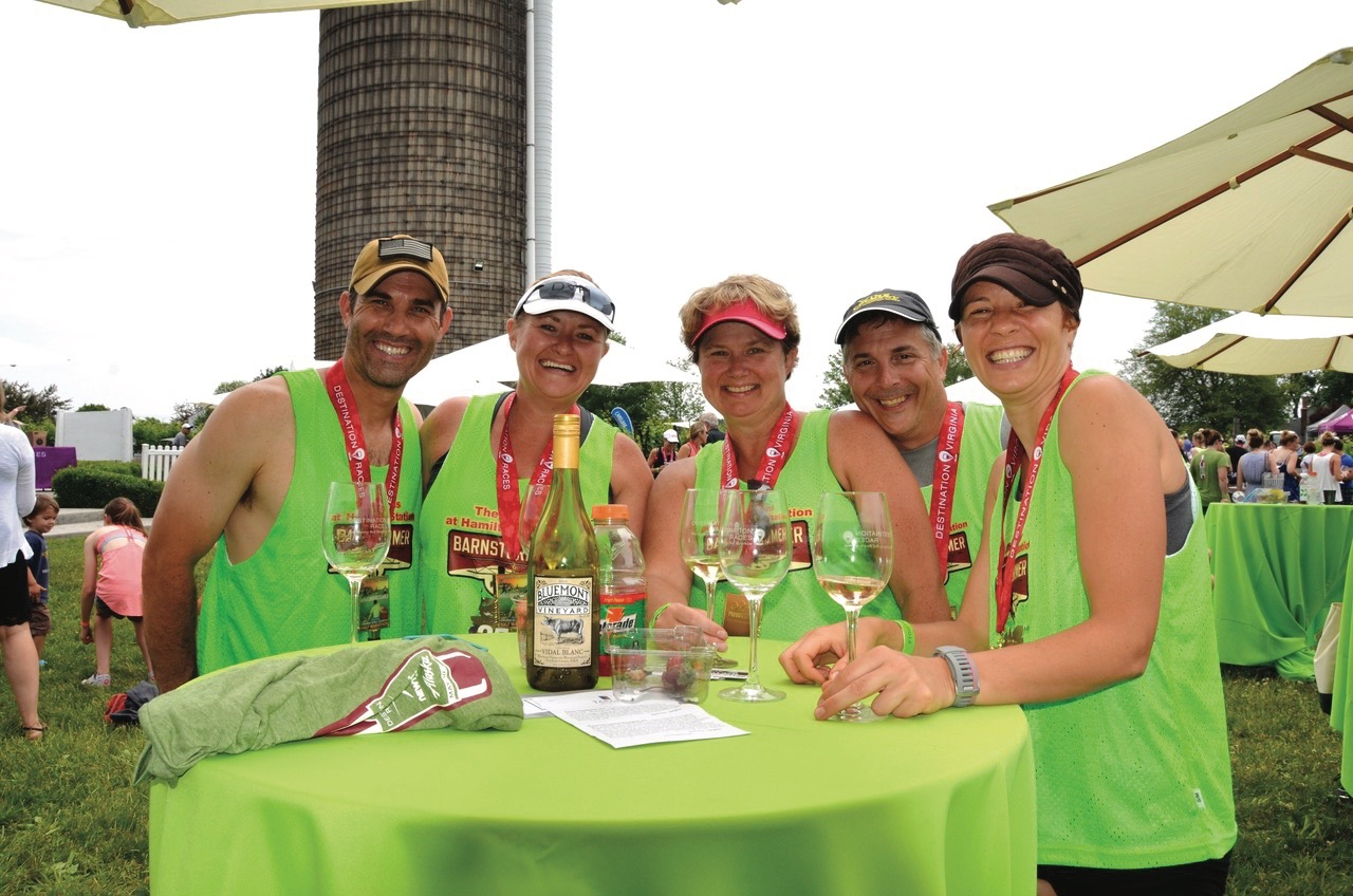 Wine Country Half Marathon runners