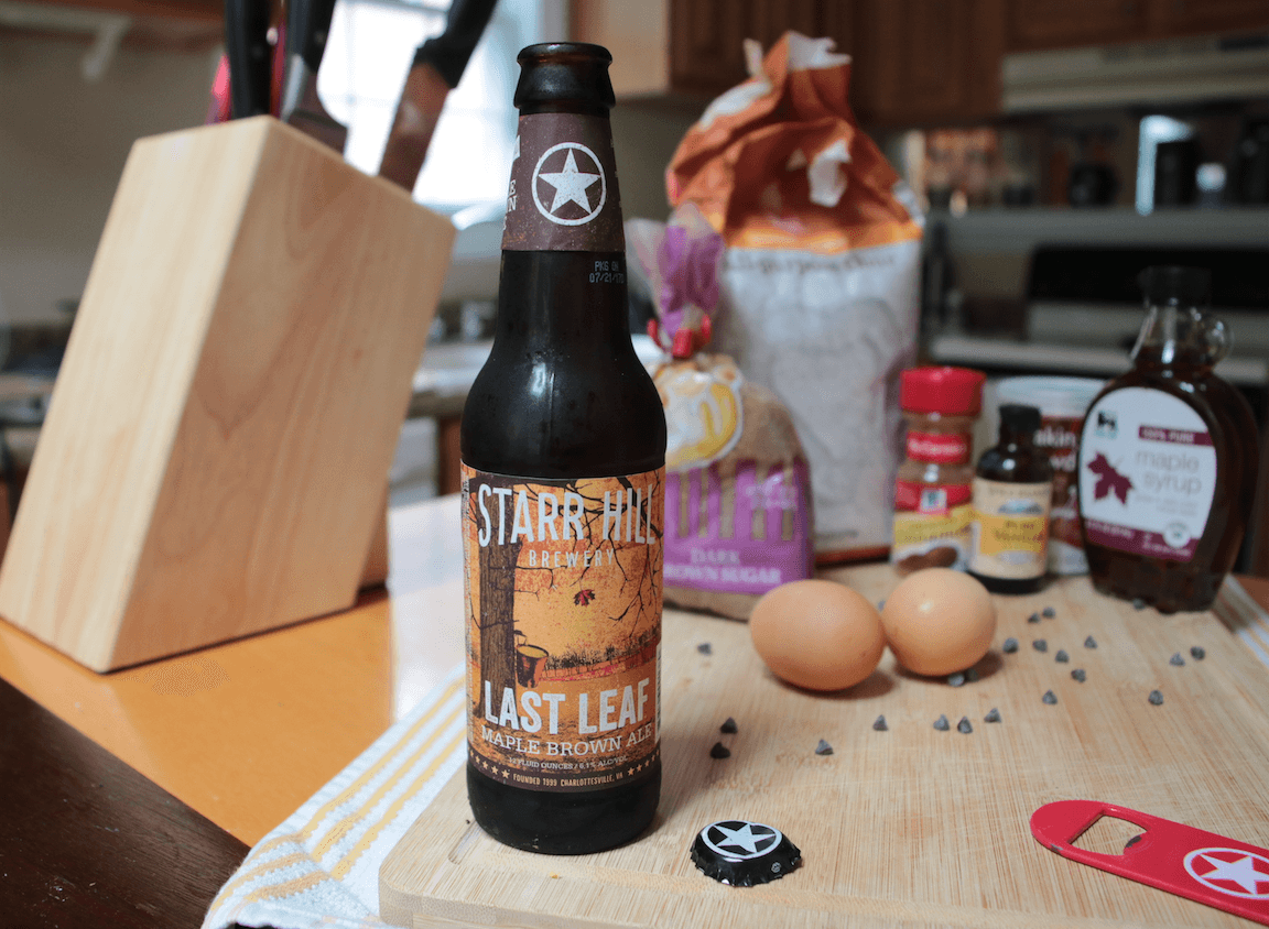 Starr Hill Last Leaf Maple Brown Ale