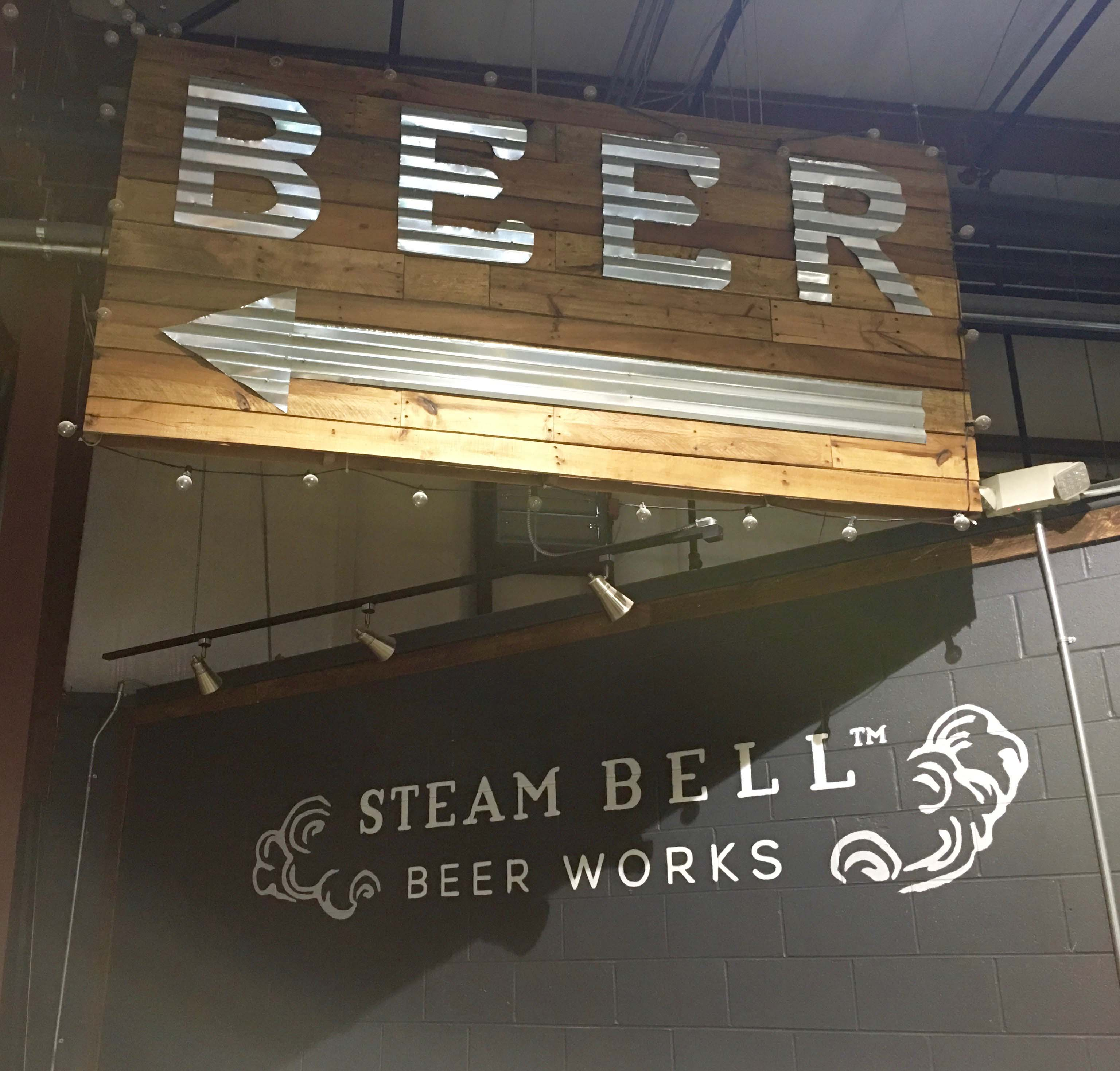 Steam Bell Beer Works, Midlothian craft brewery