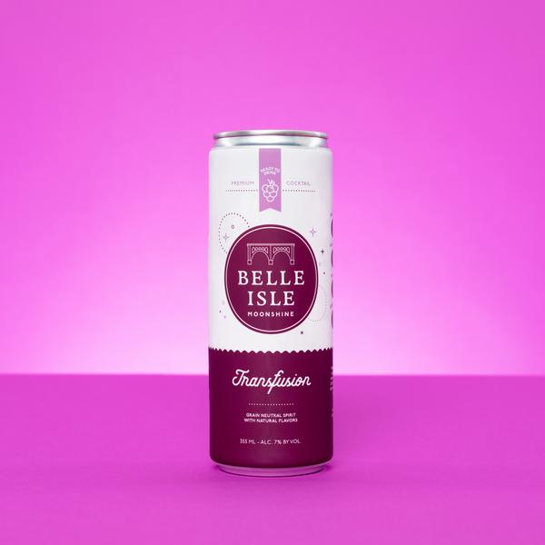 canned cocktails-Belle Isle transfusion