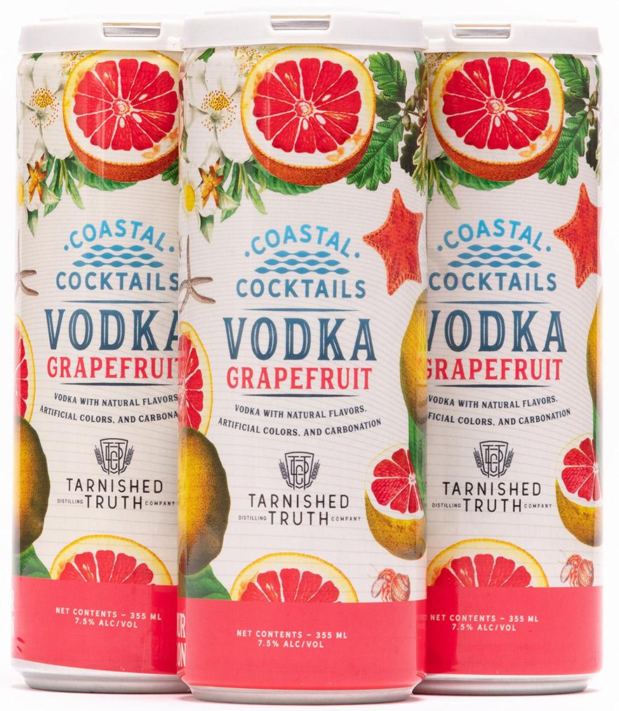 canned cocktails-Coastal Cocktails grapefruit crush