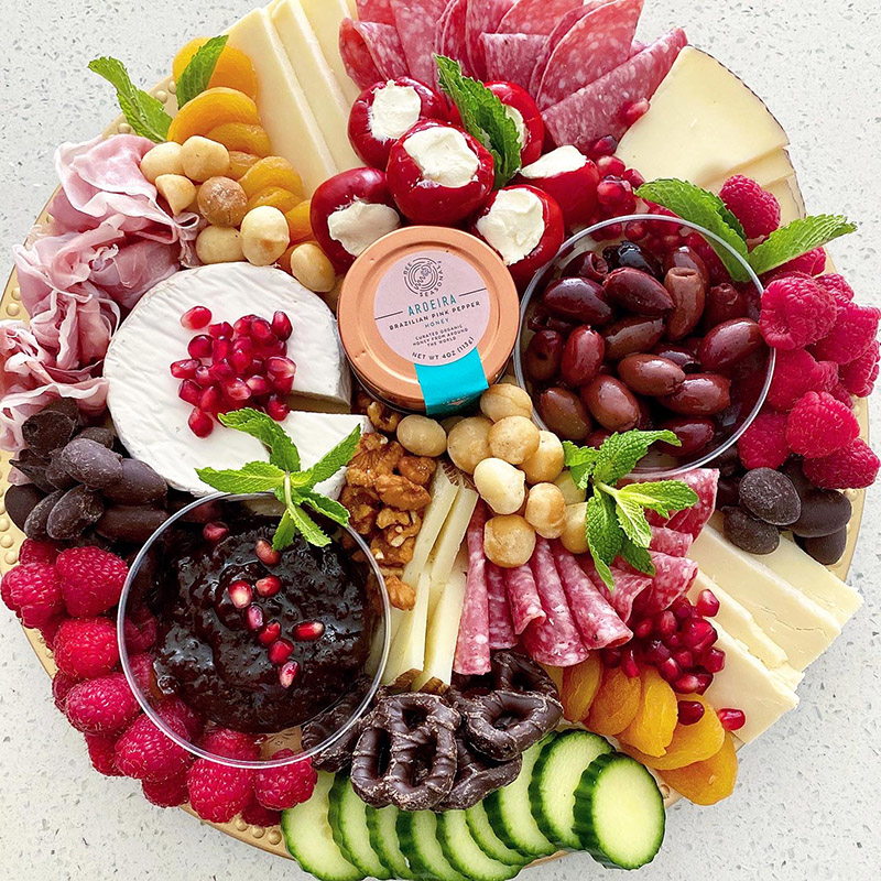 charcuterie board-The Current Dish