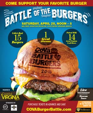 cova burger battle