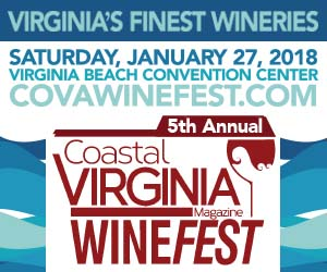 coastal virginia winefest banner