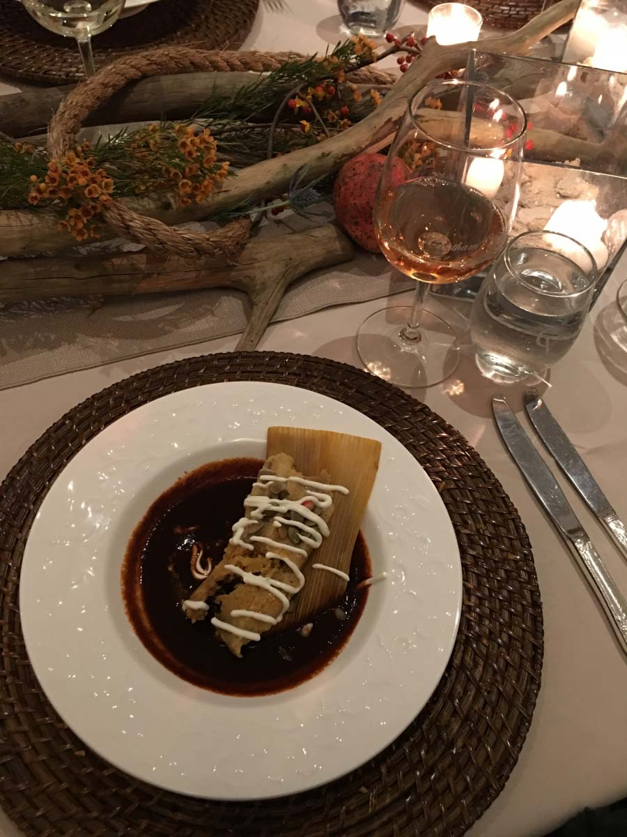 Crab Tamale, Virginia Wine Coastal Harvest Party