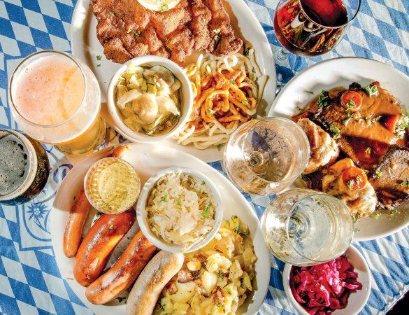 An Oktoberfest Feast