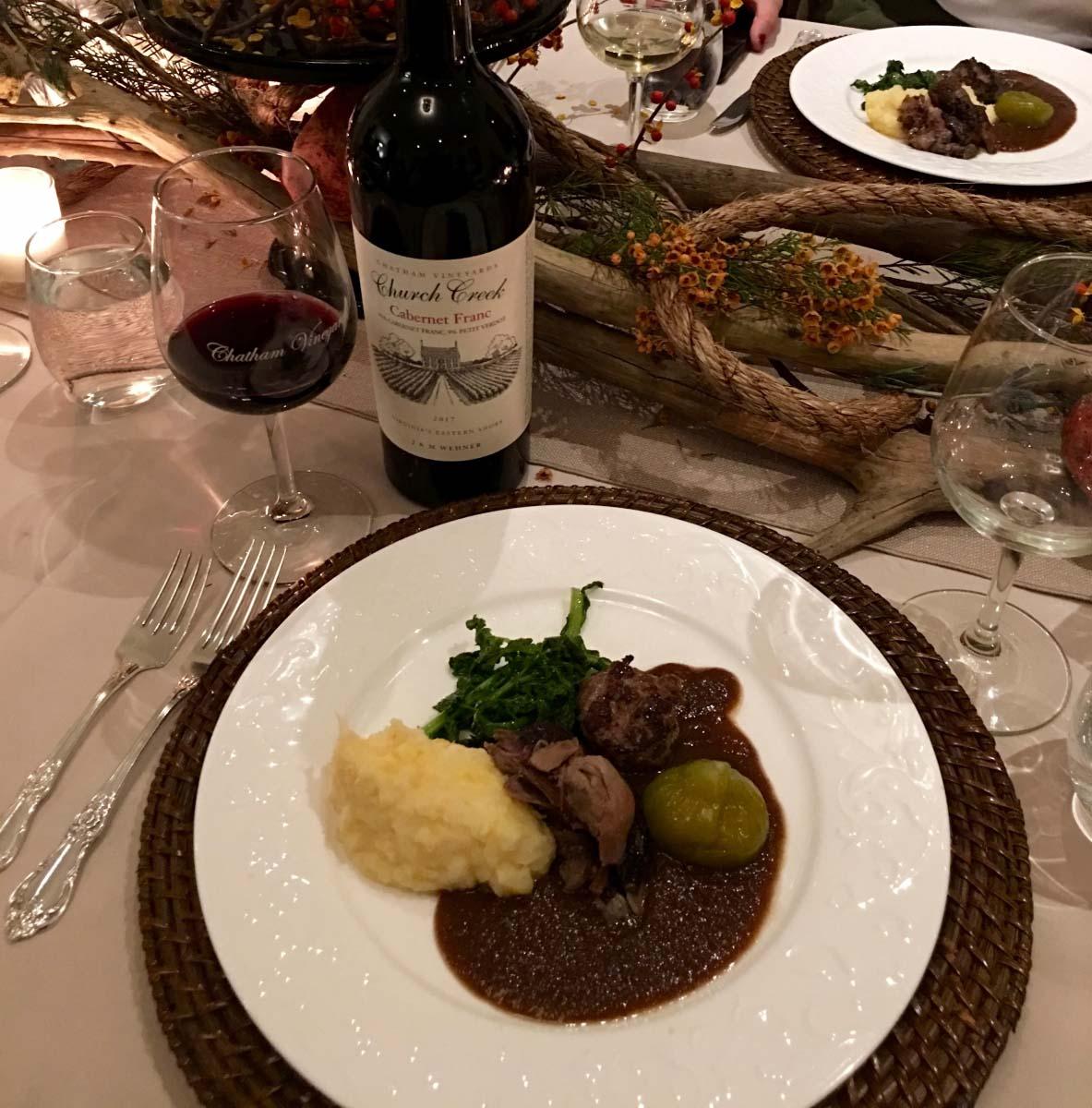 Virginia Wine Coastal Harvest Party, mutton